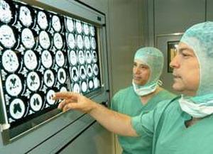 Диагностическое отделение клиники нейохирургии г.Дуйсбурга - Германия